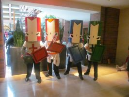 A-Kon '13 - Castle Crashers by TexConChaser