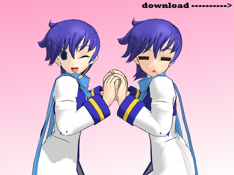 MMD Kaito Ver 2 IS HERE!!! +Download by monobuni