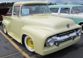 56 Ford F100 by zypherion