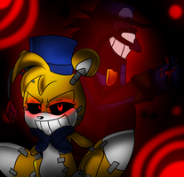 .:Admin/Gang:. Purpleman and Golden Tails (Doll) by Bonnie-Wabbit