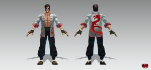 Lee_Sin_Dragon_Suit by The-Bravo-Ray