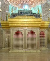 Imam Hussain's Shrine by karbala-style