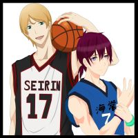 Daichi And Haruki - Collab {KnB OC} by DominicaPixie