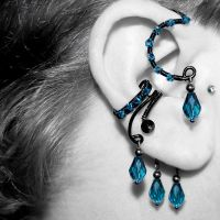 Indicolite Ear Wrap and Cuff v12- SOLD by YouniquelyChic