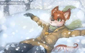 Snowfall by AvAmri