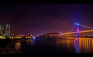 Bridges Night HDR by WiDoWm4k3r