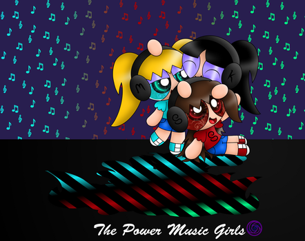 Power Music Girls by Morgafur