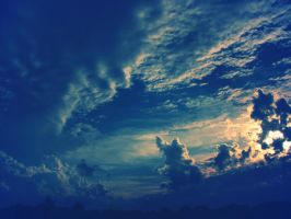Oceans in the Sky by Kostandina