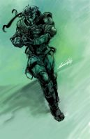 METAL GEAR: sketch by dwinbotp