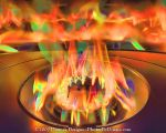 Flame in HDR by MrParts