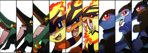 Battle Cuts - Excelo Starters by Dragonith
