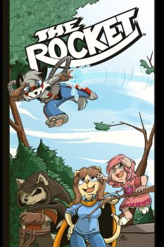 The Rocket Trade Cover by joshuadraws