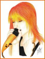 Hayley Williams by carla-ng