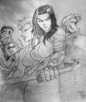 Drawing of Wildcats: Nemesis Vol 1 5 by eastphoto99