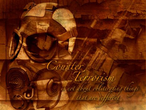 Counter Terrorism by ericgfx