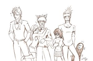 bleach and scooby doo request by feerl