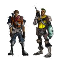 Lenny and Jake concepts by immilesaway
