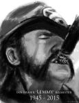 Lemmy RIP by DrD-no