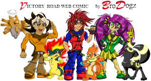 Victory Road Group Banner by BroDogz
