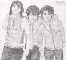 Jonas Brothers by sergaz