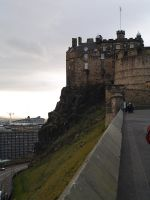 Edinburgh Castle II by StarSlateStock