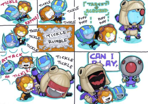 tickle wars for jadedolphin22 by prisonsuit-rabbitman