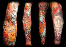 japanese sleeve by tatmic61