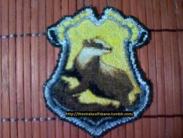 Pottermore Hufflepuff Badge by ThestralWolfsbane