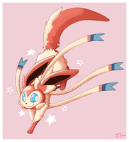 Sylveon by Spiriterra