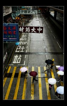 Streets of Hong Kong by cb100
