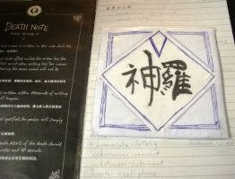 Rufus Shinra's DeathNote ? by ravenqueen22