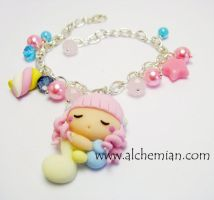 mini follettina bracelet by AlchemianShop