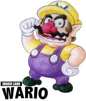 Wario land Wario by FlintofMother3