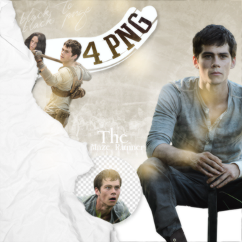 PNG Pack (4) The Maze Runner by rihannalison