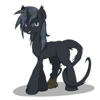 Exp. Concept OC - Nyk (Tentative) by Muffinsforever