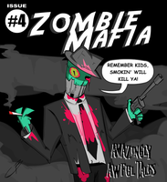 AMAZINGLY AWFUL TALES- Issue 4 by Figgs