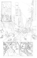 Mighty Avengers Portfolio Page by VictorMV