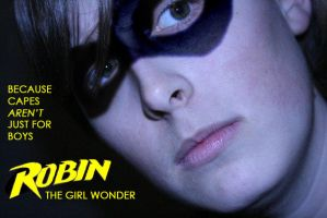 Robin the GIRL Wonder by girlwonder004