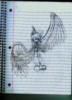 Sky, new design -class doodle- by VerbbyShadow