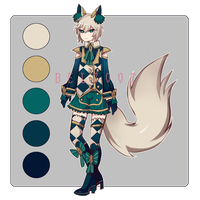 Kemonomimi Adopt SET PRICE (Closed) by Belzoot