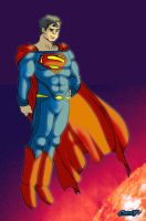 Superman:sun by Chris-V981