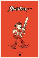 Spaceskull by JakeParker