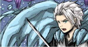 +iscribble Hitsugaya bankai+ by Evil-usagi