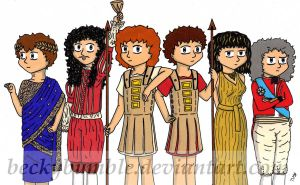 Horrible Histories Characters by BeckyBumble