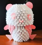 3D origami Panda by angie-hz