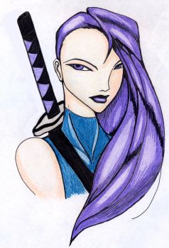 Psylocke sketch by Jason244555