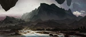 Environment With Rocks And Stuff by LennartVerhoeff