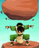 Toph, cuz it sounds like TOUGH by ArtemisDragon