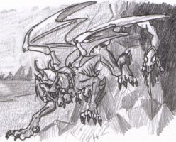 Evil Manticore by coyotepack