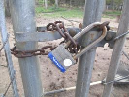 Lock And Chain by Blackpantherwolf13